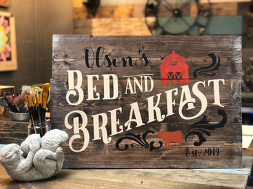 #710 Bed and Breakfast Farm