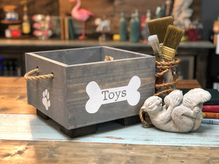 #1814 Dog Bone Toy Box.JPG