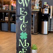 #827 Welcome Leprechauns Porch.JPG