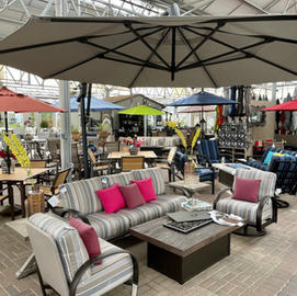Select Patio and Umbrellas on Sale