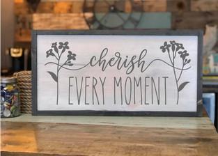 #1100 Cherish Every Moment Framed.jpg