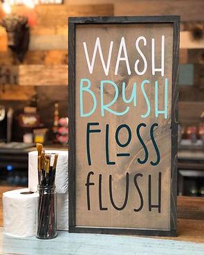 #301 Wash Brush Framed.JPG