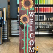 #2801 Welcome Sunflowers Porch 12x48.JPG