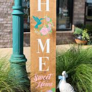 #1006 Home Sweet Hummingbird Porch 12x48