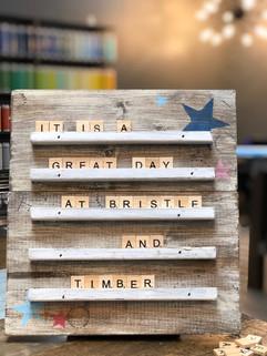 Scrabble Inspired Board