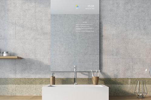 Frameless Bathroom Smart Mirror - X-Large