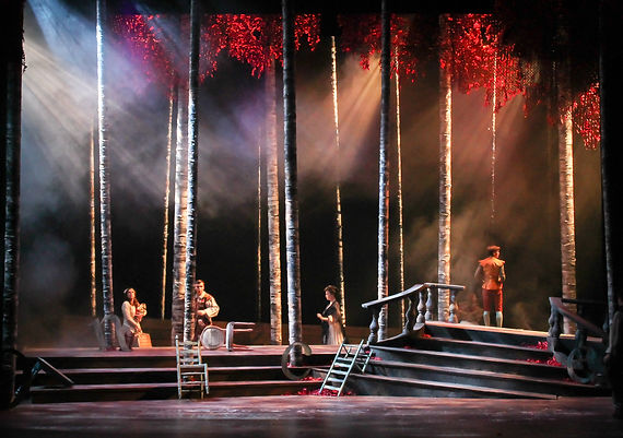 Into The Woods - Katie Gruenhagen Lighting Design