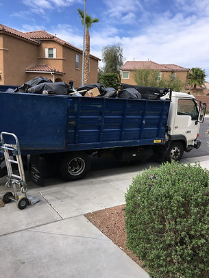 Junk  removal Full truck load