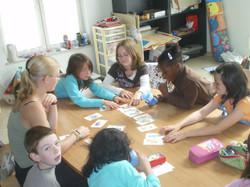 pre-teaching avec flash cards