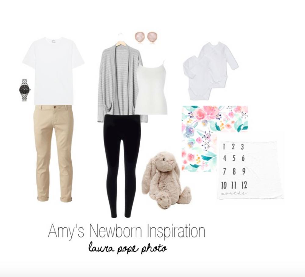 Newborn wardrobe ideas for Palo Alto