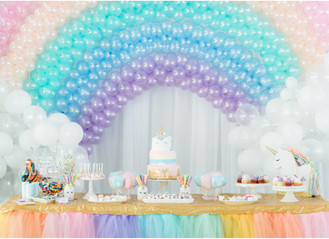 A Unicorn Birthday Party from Pinterest - Lafayette