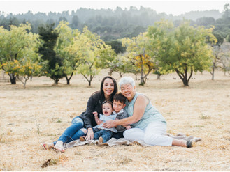 Grandma & Me Session - Peninsula Family Photographer