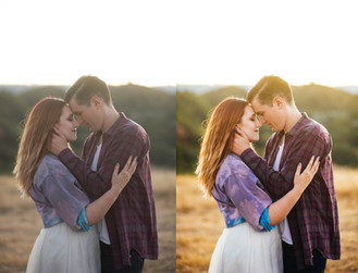 Before & After - Laura Pope Photography Northern Virginia Maternity Photographer