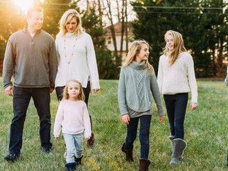 Gabriel Family - Sterling, Virginia - Laura Pope Family Photographer