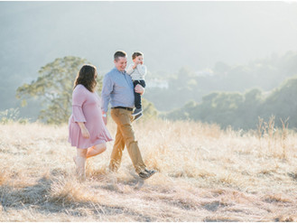 Morrison Family - San Jose Maternity Photos