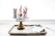 5 Ways to Document Your Kids Creativity & How To Organize the Supplies