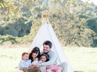 Salsamendi Family - Los Altos, Ca - Laura Pope - Northern Virginia Family Photographer