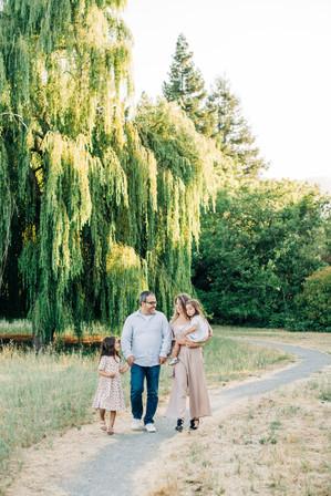 Portola valley family photos