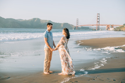 San Francisco maternity portrais