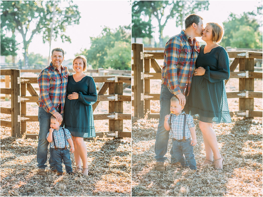 Family photos at Bernal Gulnac Ranch in San Jose, Ca