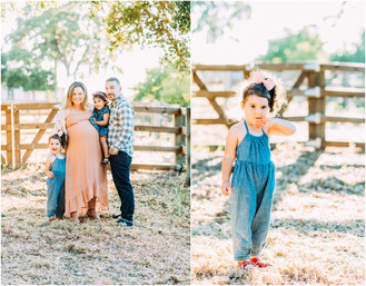 Amirkhas Family Golden Hour Session | San Jose Maternity Photographer