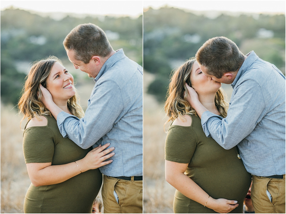 San Jose family maternity session Laura Pope Photography