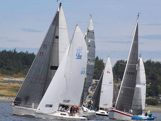 Ehu Kai and Walkers pace Whidbey boats during Race Week