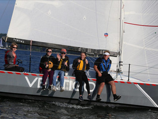 Wind Warrior, skippered by Dean Vandament, takes 1st / Sailing