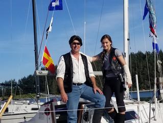 Juan Solo wins weekly race / Sailing