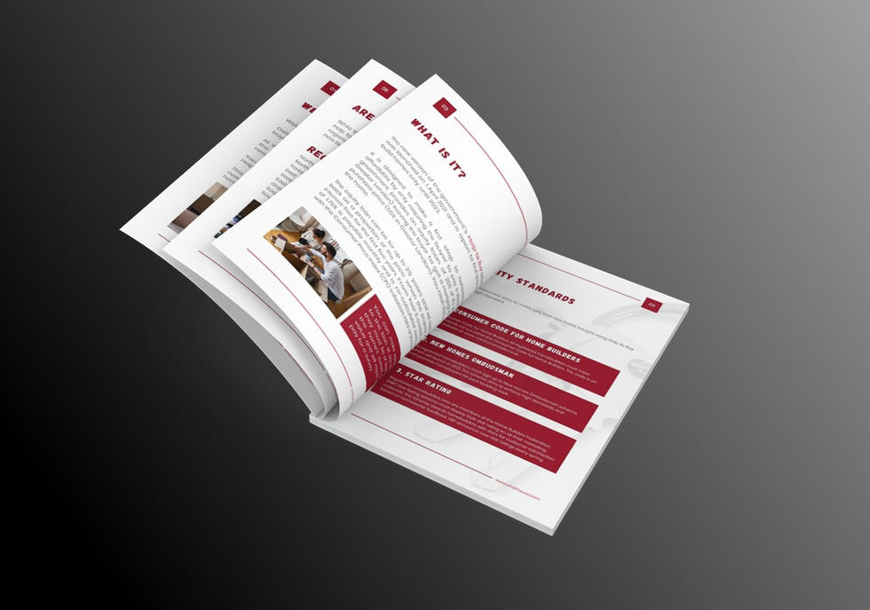 WhatHouse? Brochure Design