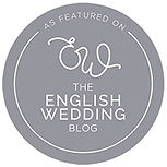 As featured in the English wedding blog