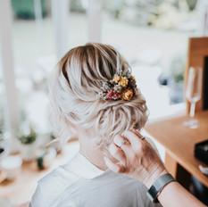 Boho hair for Anna