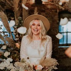 Boho Bridal at Hirst Priory - Emily