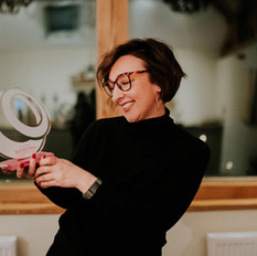 Winner 2020 wedding hairdresser of the year
