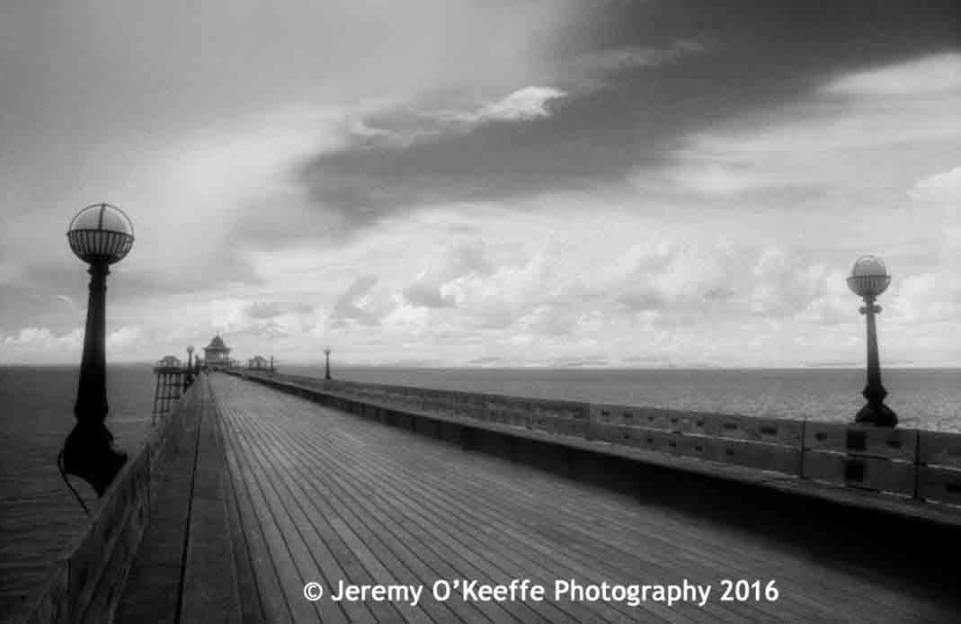 Storm at Clevedon
