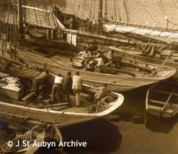 Breton Fishing boats