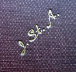 John St Aubyn monogram