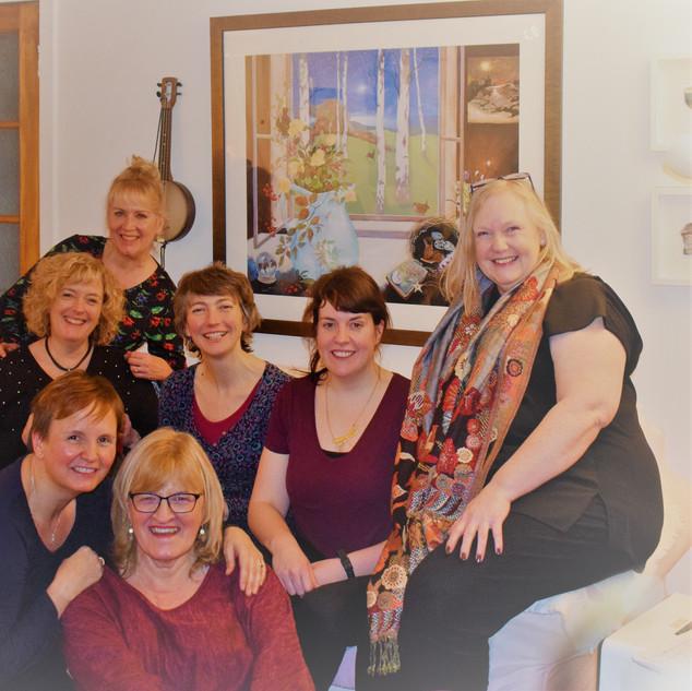 Team meeting at Primrose Cottage