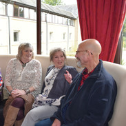 Gail, Marilyn and Collette - Enthralled by Lenny!