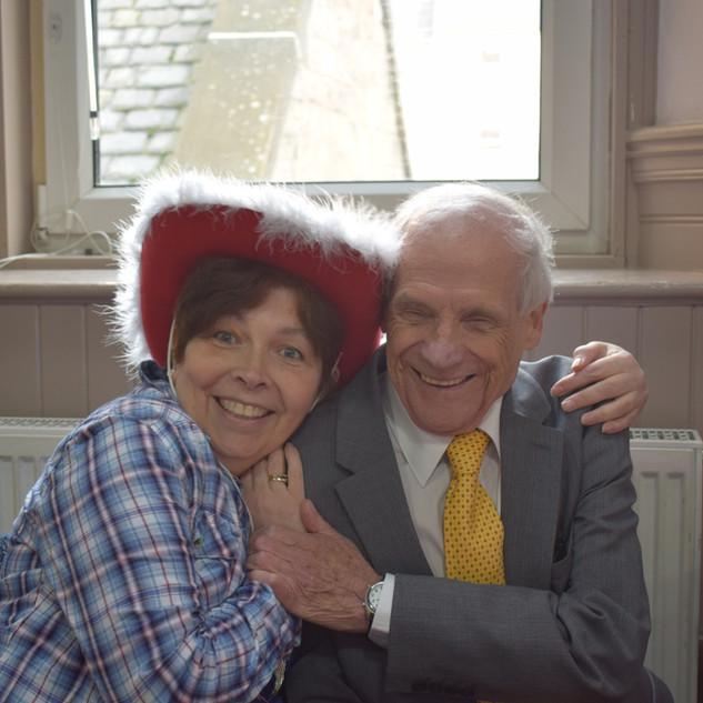 Gordon and Moira