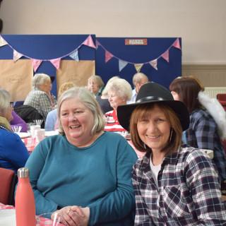 Gail and Joan