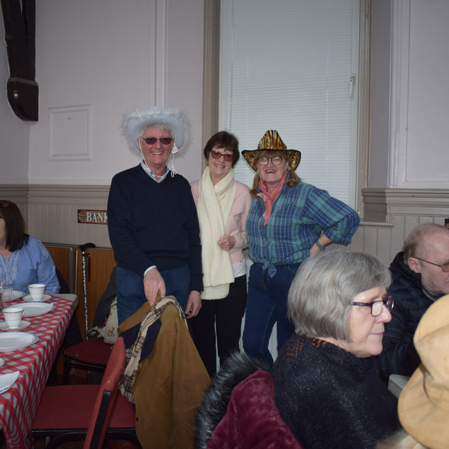 Jim, Sheila and Anne