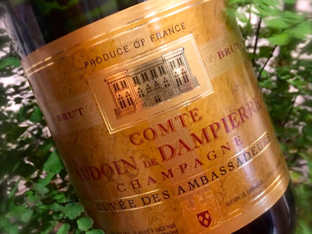 Champagne and French organic wine tasting
