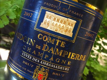 シャンパンとオーガニックワイン Champagne and organic wine tasting
