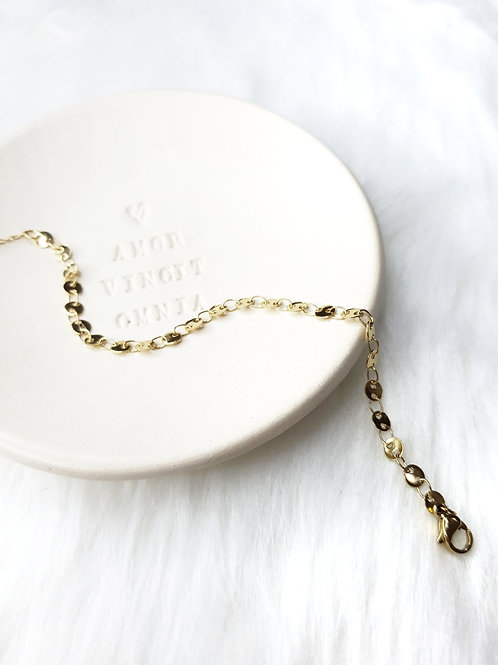 Gold Discs Bracelet