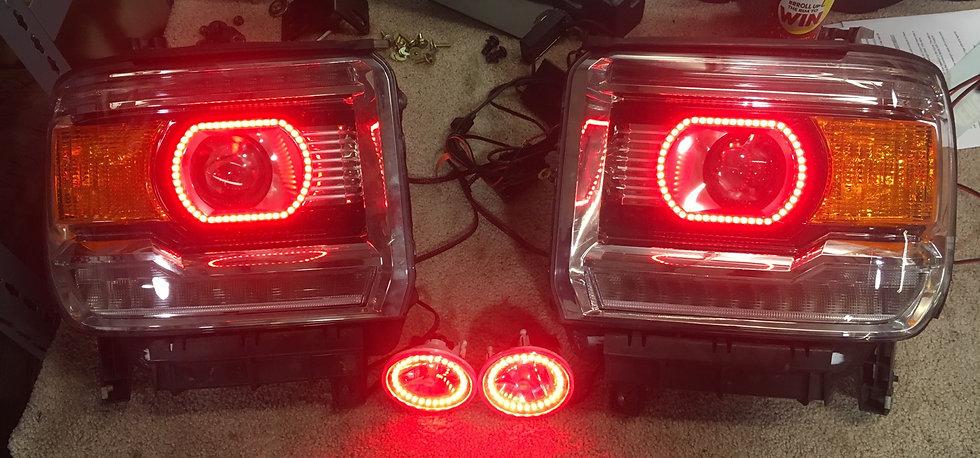 '14-'15 GMC Sierra Headlights