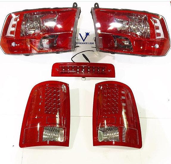 09-18 Ram 1500-3500 Headlights