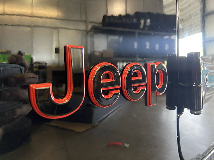 Jeep Gladiator Emblem Package
