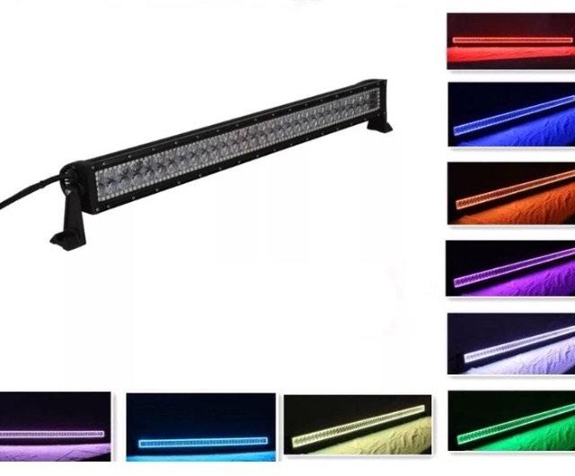 "32"" Straight RGB Halo Light Bar"