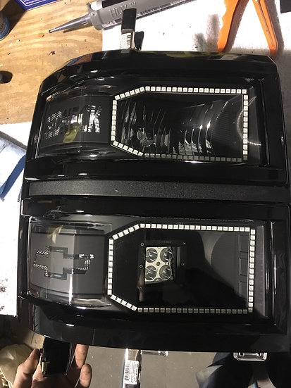 14-15 Silverado Headlights